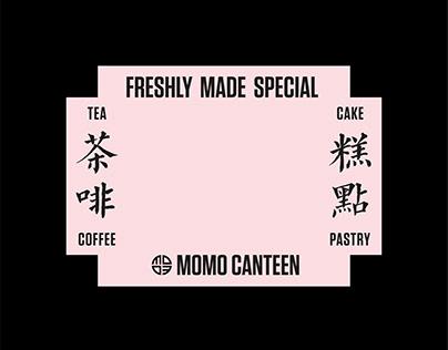 Momo Canteen, London|Rebranding