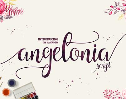 Angelonia Typeface