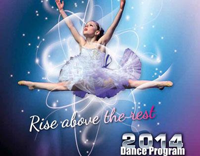 Ovation Dance Challenge Program Cover