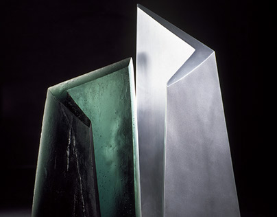 Australian Cast Glass Sculpture | Glass Artist Studio