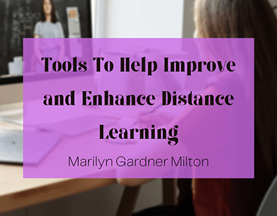 Distance Learning Tools - Blog Header