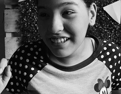 Una mirada de una niña autista