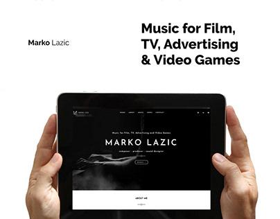Marko Lazic - Website & Brand Identity