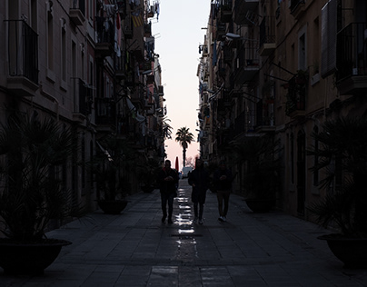 Silhouettes of Barcelona