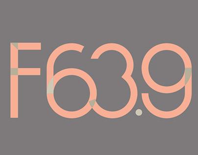 logo for F63.9 studio