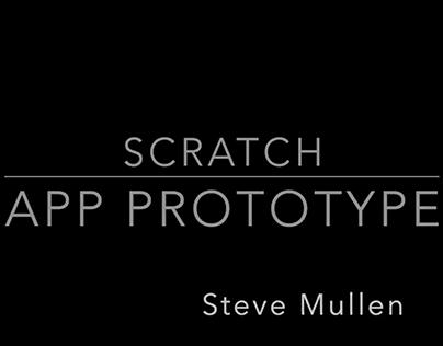 Scratch App Prototype