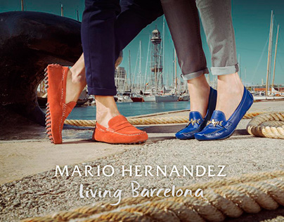 "Campaing ""Living Barcelona"" - Mario Hernandez"