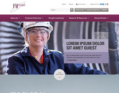 FM Global Website Design