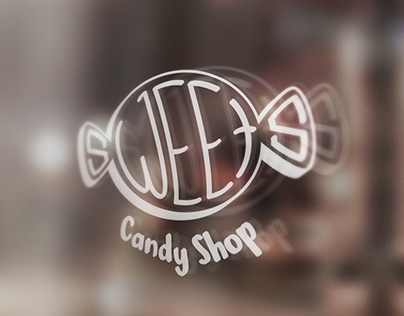 Sweets Candy Shop Logo