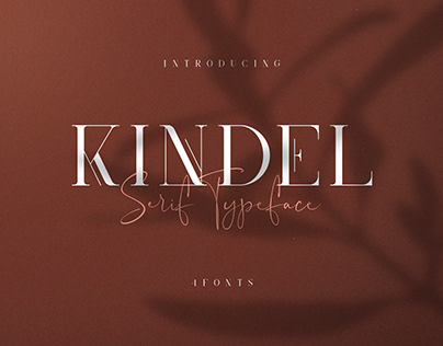 Kindel Serif Typeface ( Free Download )
