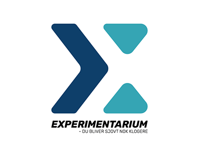 Logo design - re-desing of Experimentarium logo