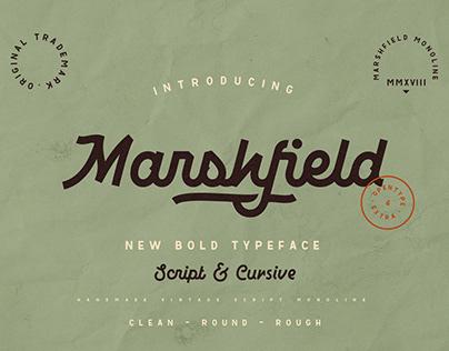 Marshfield Typeface