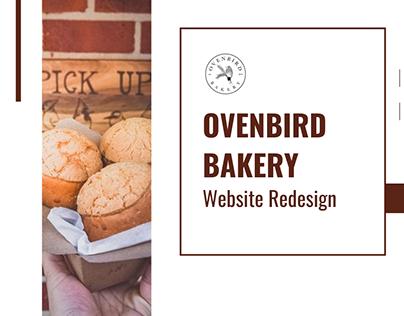 Ovenbird Bakery Website Redesign - UX Case Study