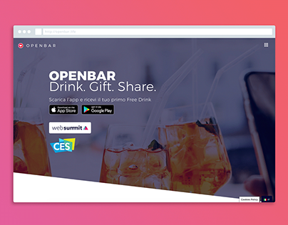 OpenBar Website