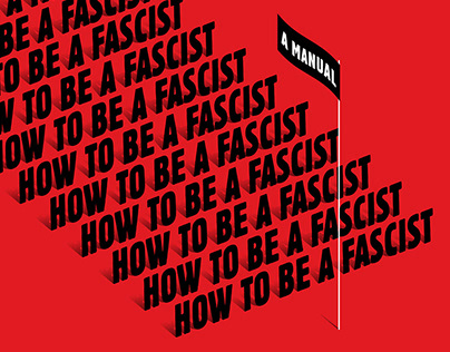 """""""How to Be a Fascist"""" book cover"""