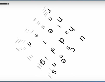 Typographic animations: real-time sentence visualiser