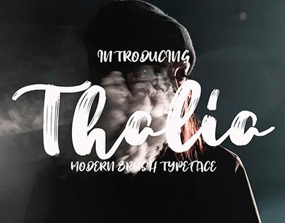 FREE Thalia Display Font