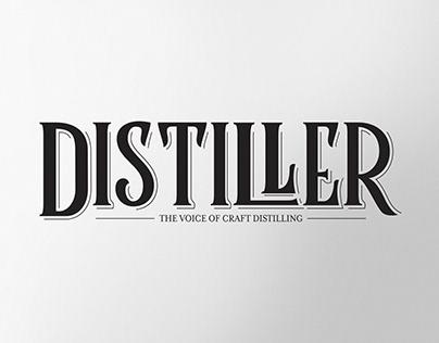 Distiller Magazine Redesign