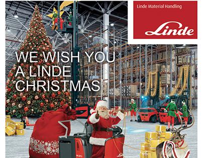 Immagine di Natale per la sede italiana di Linde