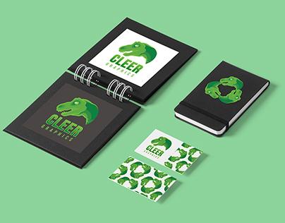 Cleer Graphics branding set