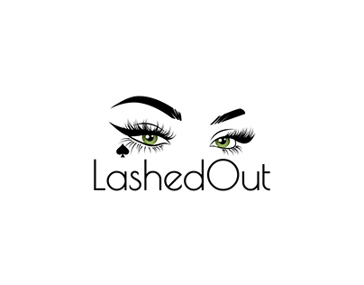 LASHED OUT EYE LOGO