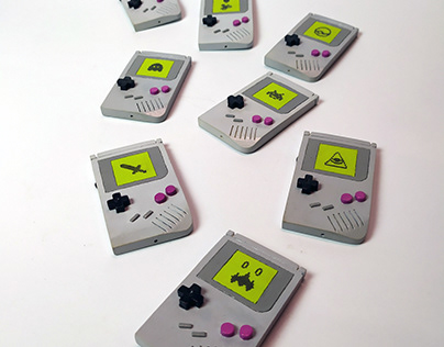 Magnet Mini Gameboy