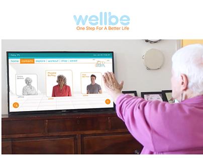 wellbe - tv App for the elderly