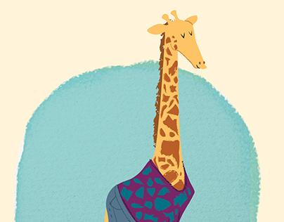 Sofi la girafe géographe