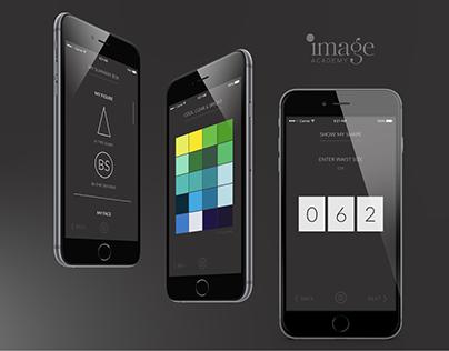 SAIA mobile app UI/UX design for image consultations