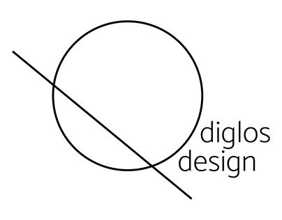 Logo for diglos design studio