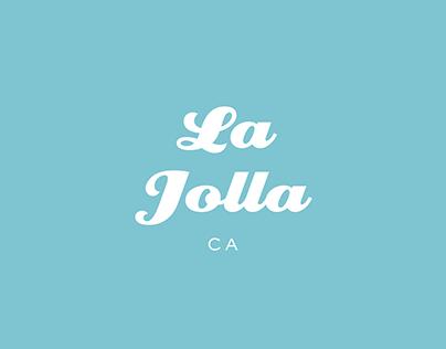 La Jolla CA Logo Concept
