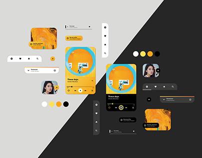 UI Design – Music App