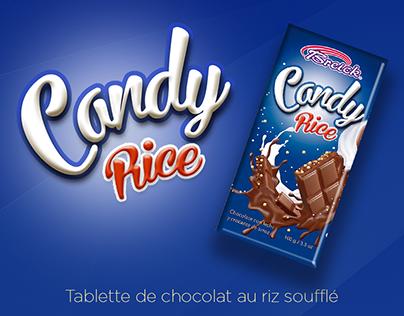 Label Chocolat - riz