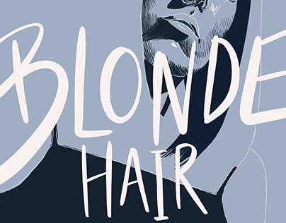 Blonde Hair Cover Design