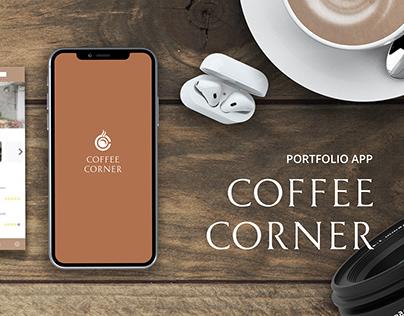 COFFEE CORNER - UX/UI PORFOLIO