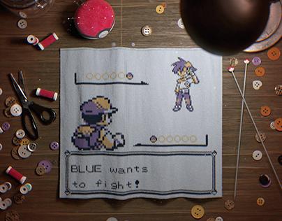 Knitted Pixel - First Battle