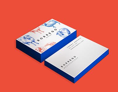 BORREGO - Branding/Identity design