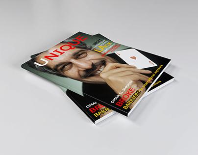"""Magazine Cover """"UNIQUE"""""""