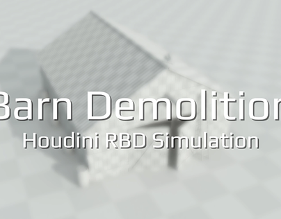 Procedural Barn Demolition