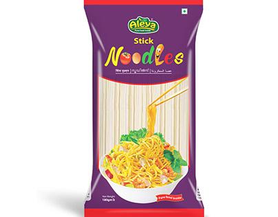 Stick Noodles Packaging Design