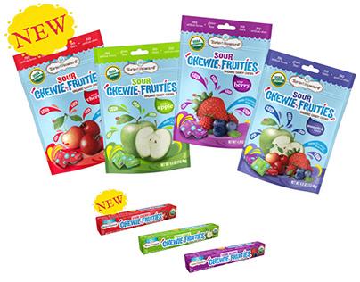 Fresh Fruit illustrations for Torie & Howard Candy