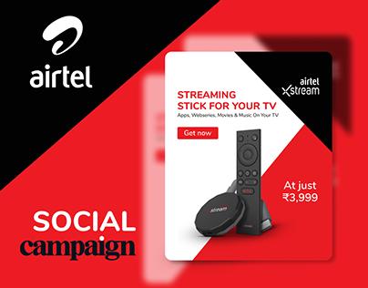 Airtel - Social Campaign