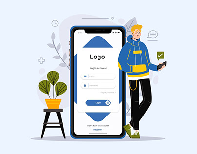 Login / Register UI