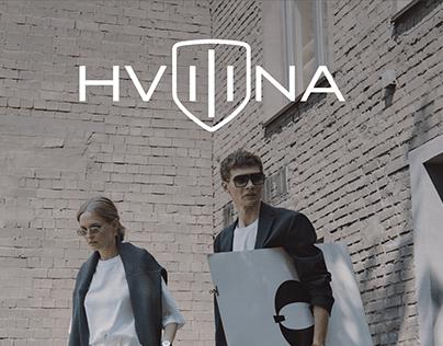 HVILINA - clock brand. Design web store