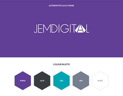 JemDigital branding infographic