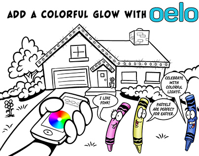 Oelo Coloring Page