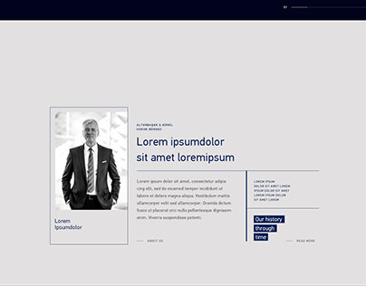 Law Firm Homepage