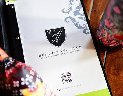 Heladiv Ice Tea Concentrate : Label Re-design