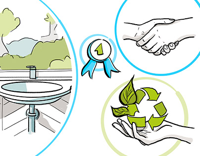 Illustrations for website, Silver Investment Partners