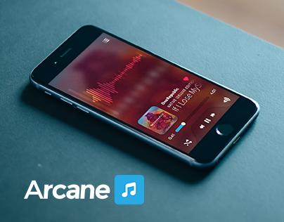 Music Player Concept - Arcane UI